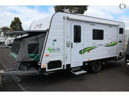 CARAVAN FOR HIRE (NEW-AGE GECKO 16FT TRIPLE BUNK EN-SUITE) Campbelltown Area Preview