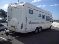 4 Berth Autotrail motorhome to hire