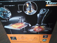 Thrustmaster T.160000M FCS HOTAS joystick & TWCS throttle controller for PC.