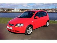 Chevrolet Kalos 1.4 SX 2008 model, very low miles, full m.o.t, 3 months extendable warranty