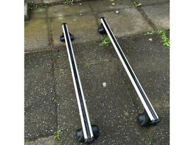Exodus Aero 127 Roof Bars plus FP4 Footpack
