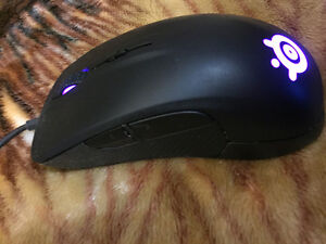 SteelSeries Rival 300 - Optical Gaming Mouse Black