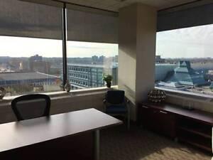 Executive Corner Window Office Overlooking London! London Ontario image 2