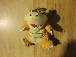 N64 Nintendo BOWSER Beanbag Beanie Stuffed Plush 1997 1998 Toy
