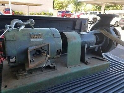 Tested Taco 20hp Water Pump 475gpm And Marathon Electric Motor