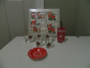 8 Canadian Centennial Collectibles & 1954 Windsor Flag