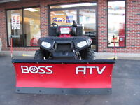 Boss 4' Poly Blade ATV Plow w/ Hand Control