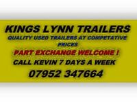 Many Trailers for sale