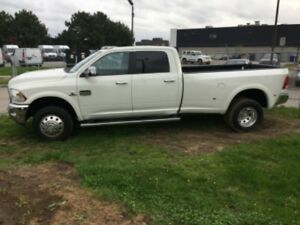 2017 Dodge Longhorn Dually 3500- Mint Condition