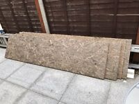 Tongue and Groove OSB3 Boards T&G