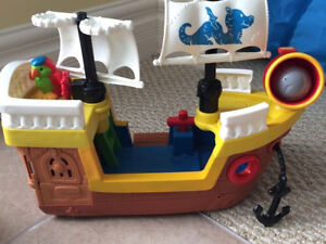 Fisher price and little people toy sets