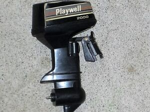 Old Toy outboard boat motor