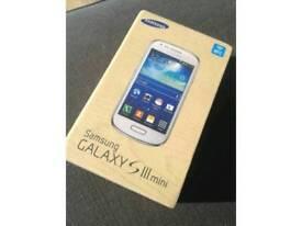 Samsung galaxy S3 mini Unlocked boxed
