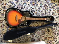 Takamine Acoustic Guitar w/ Free Hard Case