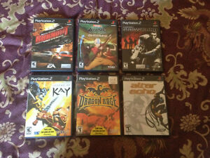 PS2 games for sell