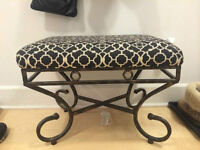 SMALL PATTERN BENCH SEAT
