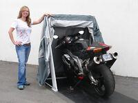 Retractable Motorcycle Cover