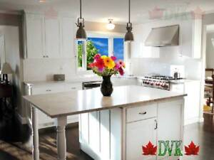 DVK Kitchen Cabinet/cabinets up to 60% off - Glamour White Maple