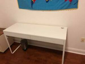 Like-New Ikea Micke Desk