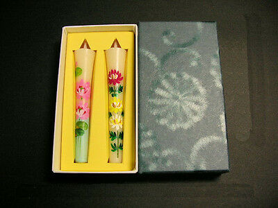 Japanese Traditional Picture Candles; All Handmade 100% vesitable wax