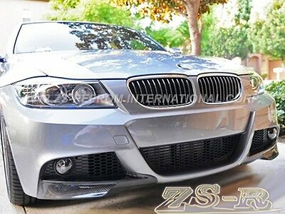 c941039bb2c BMW E90 E91 05-08 Performance Style M-Tech Carbon Fiber Front Splitter Lip  2PCS