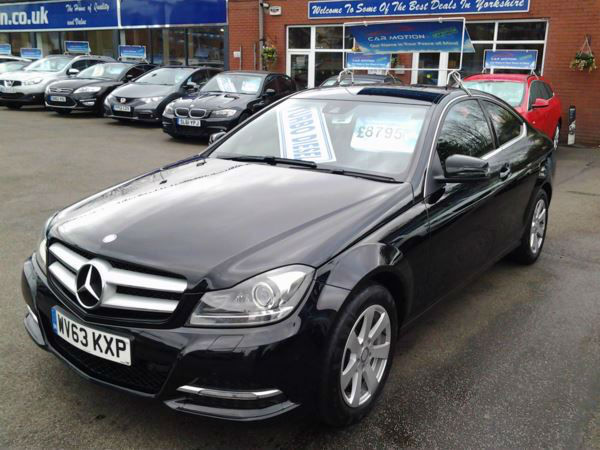 Mercedes-Benz C-Class C220 CDI BlueEFFICIENCY Executive SE (FULL LEATHER)