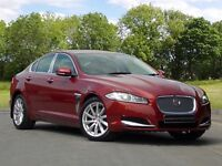 Jaguar XF D V6 PREMIUM LUXURY (red) 2013