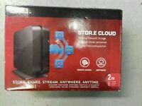 Toshiba Stor.e Cloud - 2TB - Personal Network Storage - Brand New