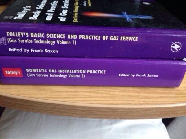 3 Gas service study books