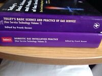 3 Gas service study books
