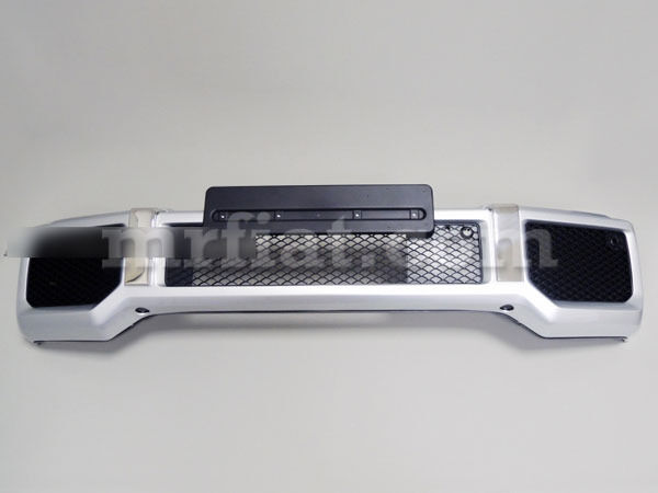 Mercedes G-wagon Genuine Amg G500 G550 W463 G63 Silver Bumper Facelift New