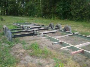 32 foot long trailer frame