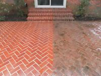 Jet washing/pressure washer cleaning service in the Glasgow
