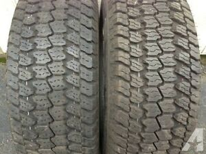 "4-GOODYEAR WRANGLER AT/S-LT275-65-R18""-60-75% TREAD."