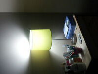 (moving sale) selling 2 standing lamps and 1 desk lamp