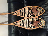 SNOWSHOES hunting fishing camping native made canada cabin
