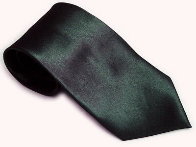 Men's Black Solid Color Plain Silk Narrow Arrow Necktie Skinny Suit Tie  - Mens Solid Black Suit
