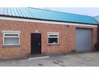 Workshop/ Storage/ Industrial secure unit to rent in Billingham. 1900sqft.