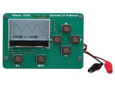Velleman Edu08 Educational Lcd Oscilloscope Kit---special