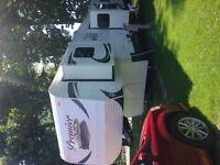 34ft 2015 premier fifth wheel travel trailer