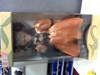 PORCELIAN DOLLS NEW IN THE BOX