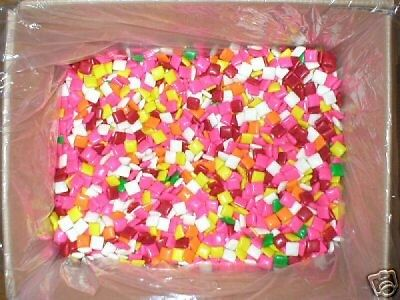 5lb Assorted 1200 Chicle Chiclet Chicklet Gum Vending Machine Bulk Gumball Candy