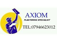 AXIOM LOW COST PLASTERING:07946623012