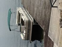 20 Ft Pontoon, 50 HP with Trailer