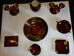 Carlton Ware Vintage Rouge Royale made in England Red & Gold Dec Gatineau Ottawa / Gatineau Area image 1
