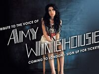 Amy Winehouse tribute concert, London EC2A
