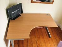 Office Desk, Curved Edge