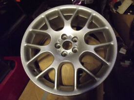 ROVER 75 / MGZT 18 inch HAIRPIN ALLOY WHEELS REFURBISHED TO AS NEW CONDITION