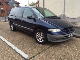 Chrysler Grand Voyager 2.5 diesel Td manual 7seats FULL SERVICE HISTORY 1owner from new 77k