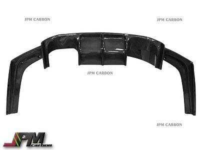 Carbon Fiber Rear Diffuser Lip V Style For 2015-2016 BMW F80 M3 F82 M4 Only